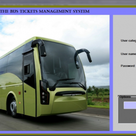 Bus Ticket Management System